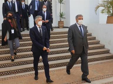 El ministro del Interior, Fernando Grande-Marlaska se ha reunido en Rabat con su homólogo marroquí
