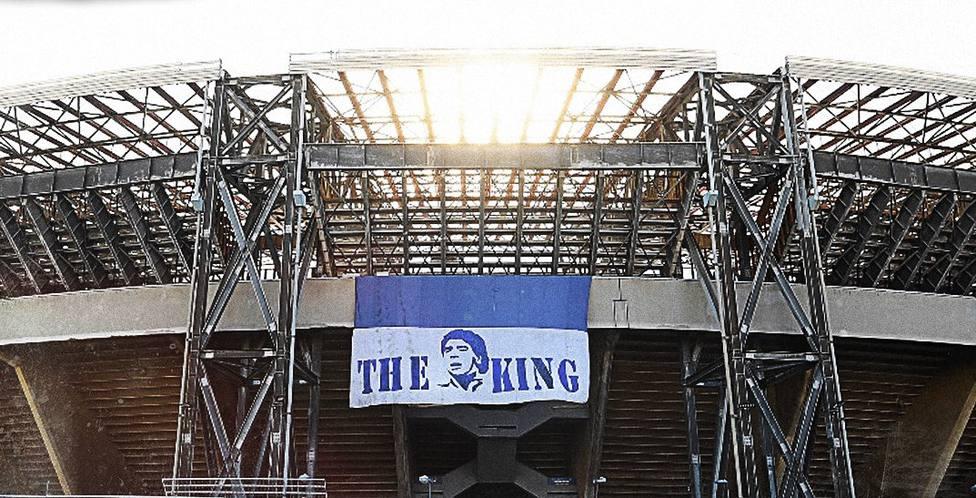 Así fue el gran homenaje del Nápoles a Maradona