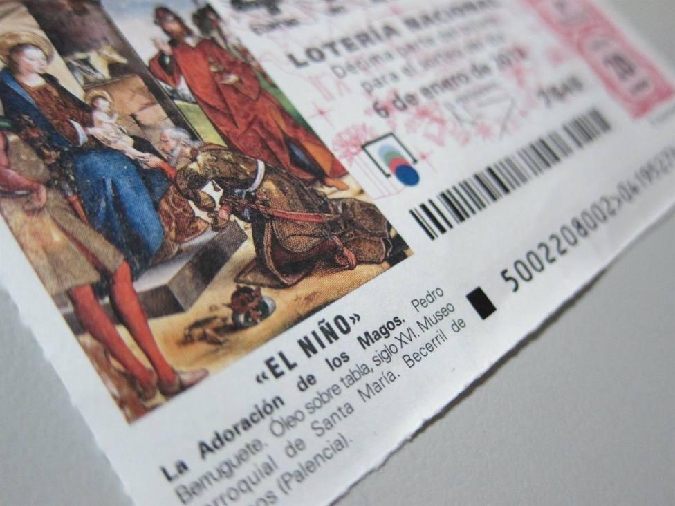 Cada vasco gastará 22,42 euros en el sorteo de la Lotería de El Niño, 2,47 euros más que el pasado año