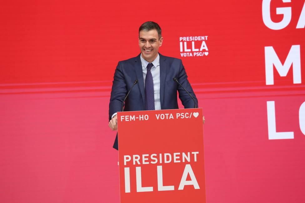 Sánchez, a ERC: No queremos amnesia, sino pasar página el 14F sin olvidar