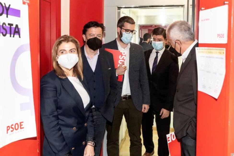 PSOE y Cs ven complicado aprobar la moción de censura en Murcia
