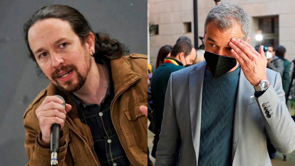 Toni Cantó expone el cambio de look de Pablo Iglesias: Cuando te disfrazas...