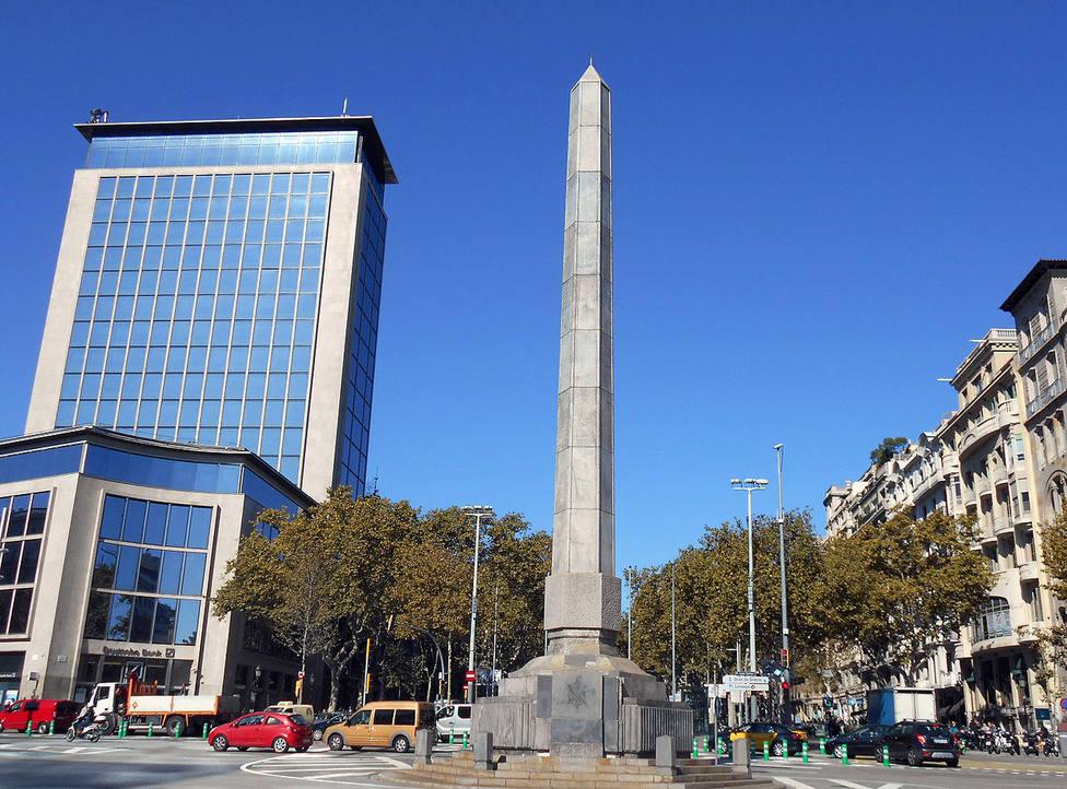 La plaza Cinc dOros de Barcelona