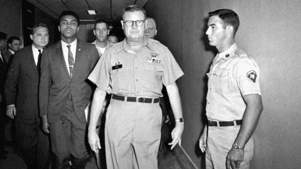 La deserción de Muhammad Alí con la guerra de Vietnam: así se jugó una carrera de leyenda por sus ideas