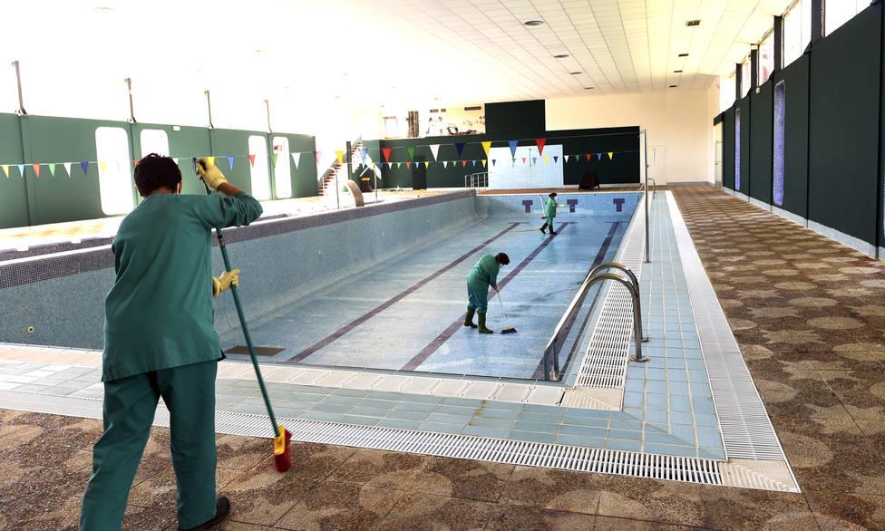 Acondicionamiento piscina
