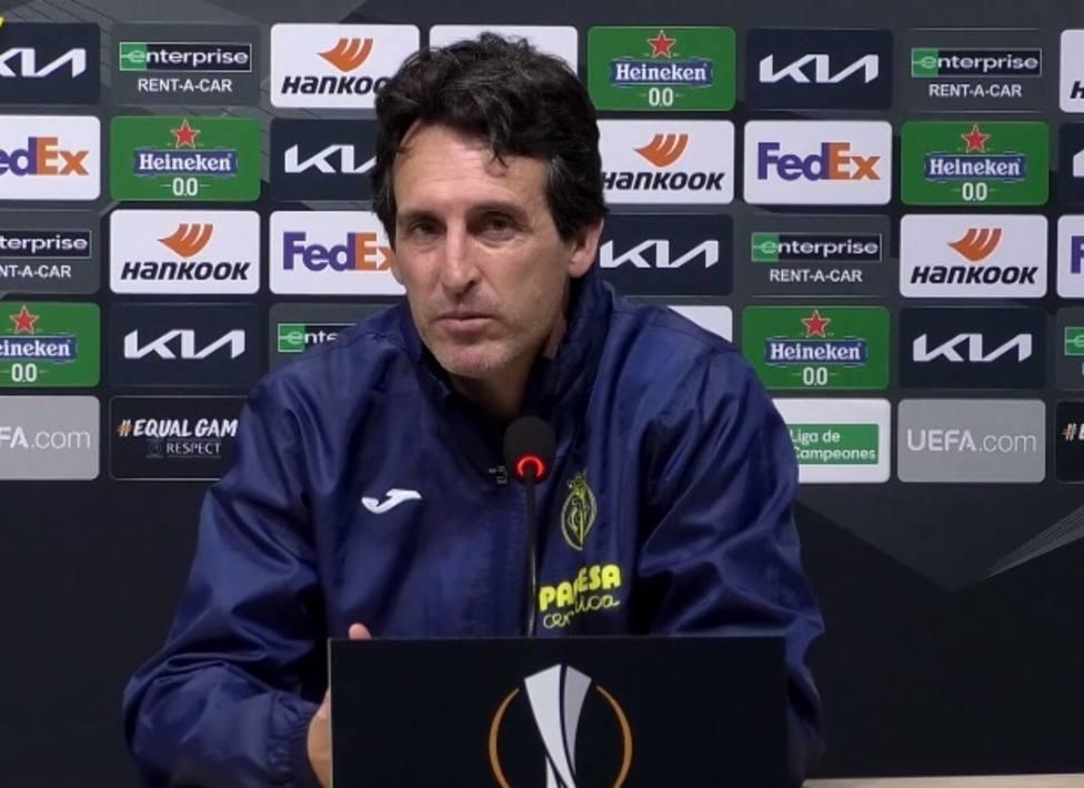 Fútbol/Liga Europa.- Emery: Afrontamos el partido con confianza, pero sin confiarnos