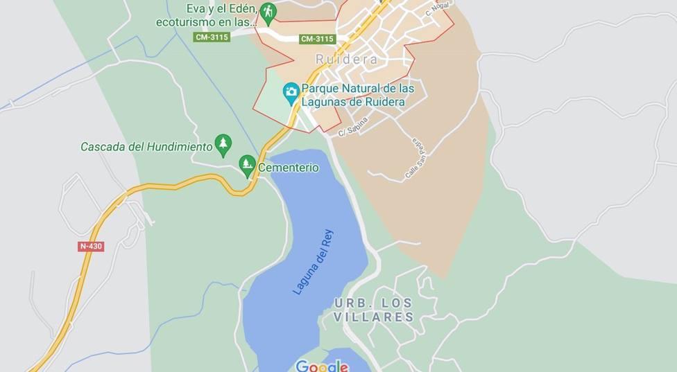 Sucesos.- Rescatan a un menor en la Laguna del Rey de Ruidera y tras ser reanimado es trasladado a Hospital de Tomelloso