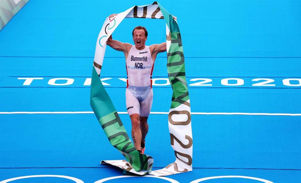 España no logra la medalla en triatlón y Blummenfelt se proclama campeón olímpico