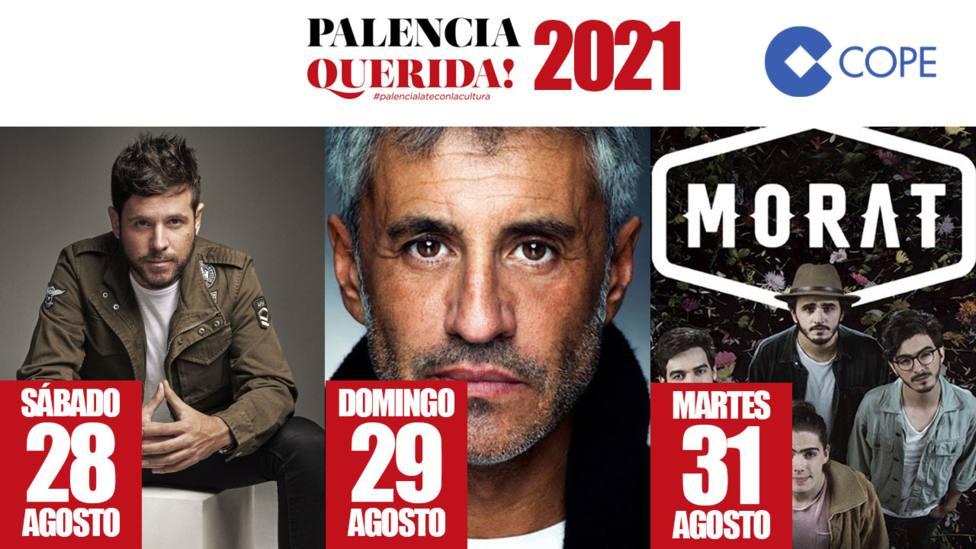 Conciertos San Antolín 2021 Palencia Querida