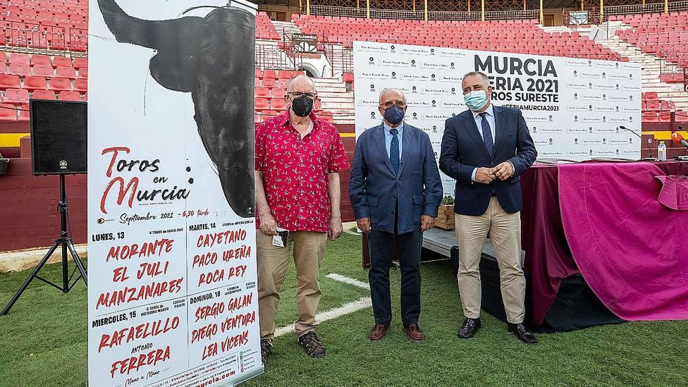 Acto de presentación de los carteles de la Feria de Murcia 2021
