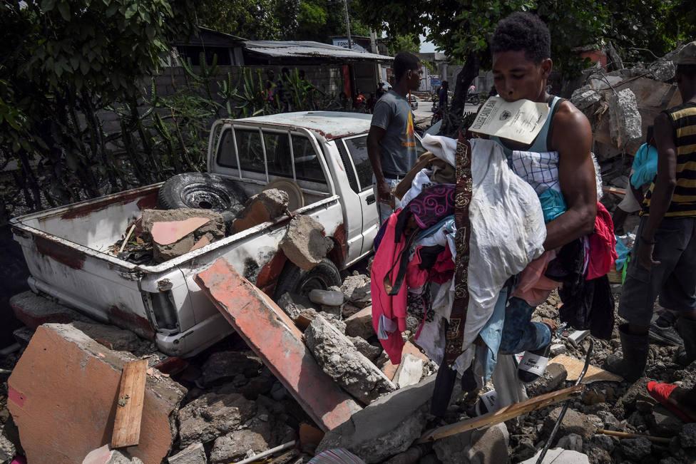 Más de cuatro millones de haitianos dependen de la ayuda humanitaria tras el terremoto