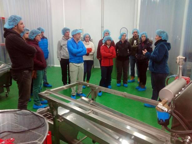 Visita a las instalaciones de Adecuara en Biescas