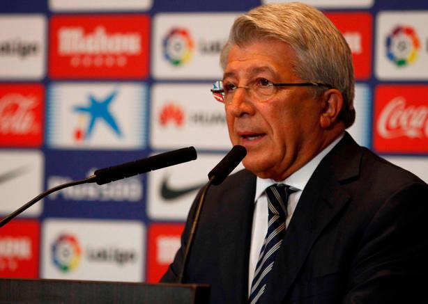 Enrique Cerezo, presidente del Atlético de Madrid. (FOTO: Atlético de Madrid)