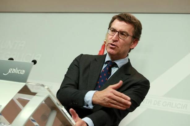 Feijóo lamenta la debilidad parlamentaria del nuevo gobierno