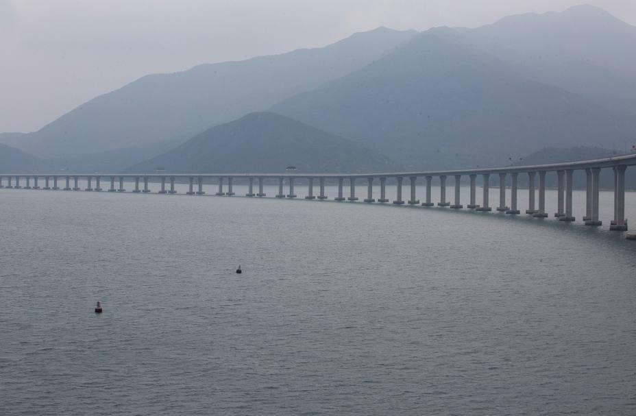 Inauguración del puente Zhuhai Macau en cuatro días