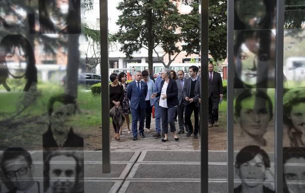 Urkullu propone una red internacional de Centros de Memoria para dar proyección universal a los Derechos Humanos