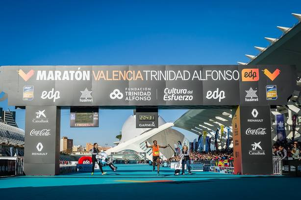 El Maratón Valencia, entre los diez mejores del mundo con el nuevo récord de Leul Gebreselassie
