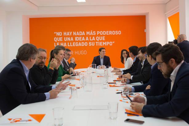 La Ejecutiva de Ciudadanos definirá este miércoles su fórmula para pactar con PP en Andalucía y que PSOE no bloquee