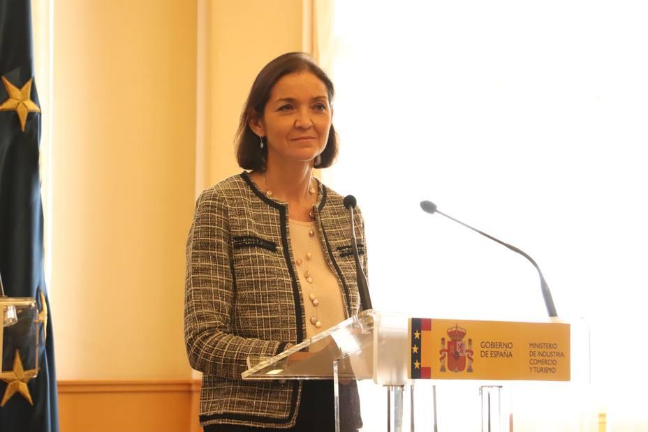 Reyes Maroto avanza que en febrero se aprobará el plan de modernización del comercio