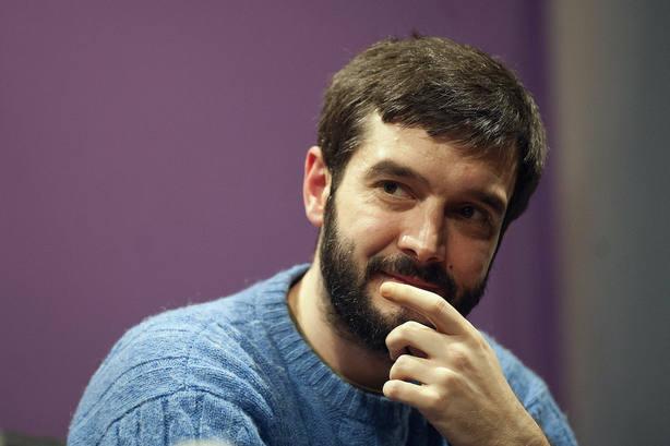 El secretario de Relaciones Institucionales de Podemos, Pablo Bustinduy