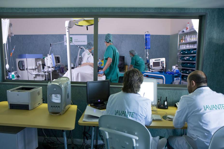 El centro de simulación clínica de la Consejería de Salud