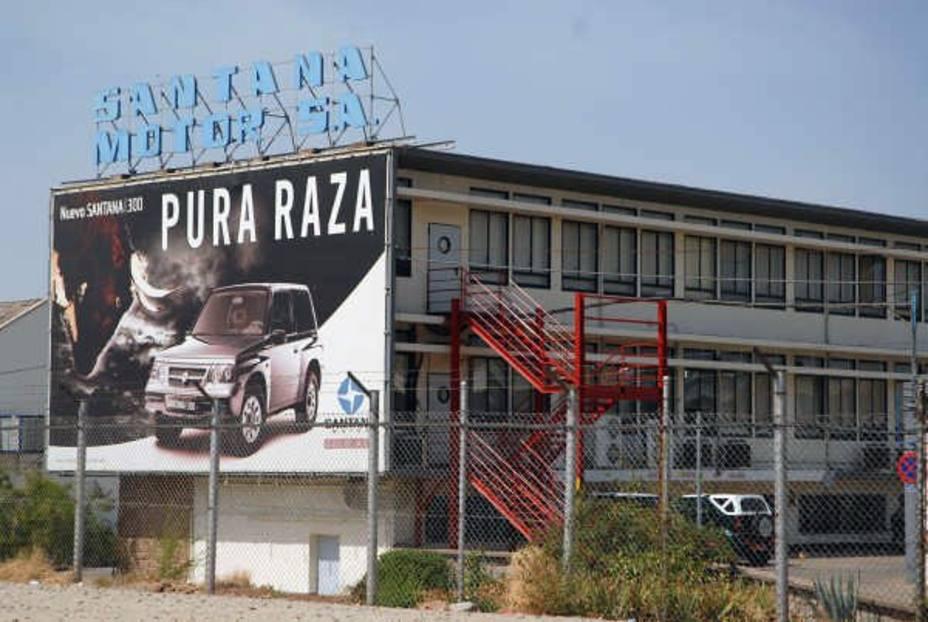 Salen a subasta las líneas de producción, equipos y otros materiales de la planta jienense Santana Motor