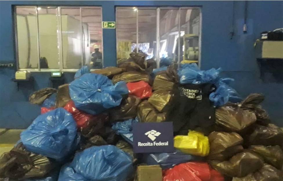 Decomisan en Brasil 1,7 toneladas de cocaína con destino el puerto de Cartagena