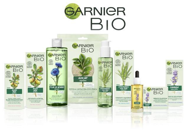 Garnier lanza una gama bio para democratizar la cosmética ecológica certificada