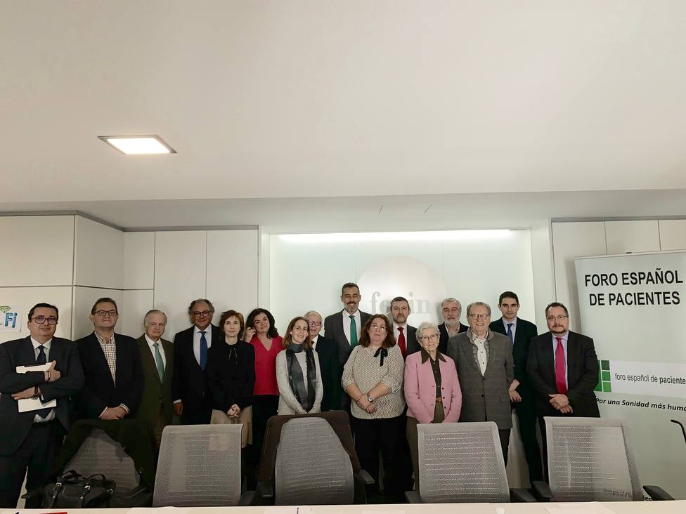 El Foro Español de Pacientes respalda un documento con 100 medidas para apoyar a pacientes y asociaciones