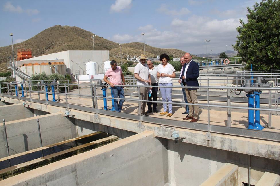 Nuevo sistema de filtración del tratamiento terciario de la depuradora de Puerto Lumbreras