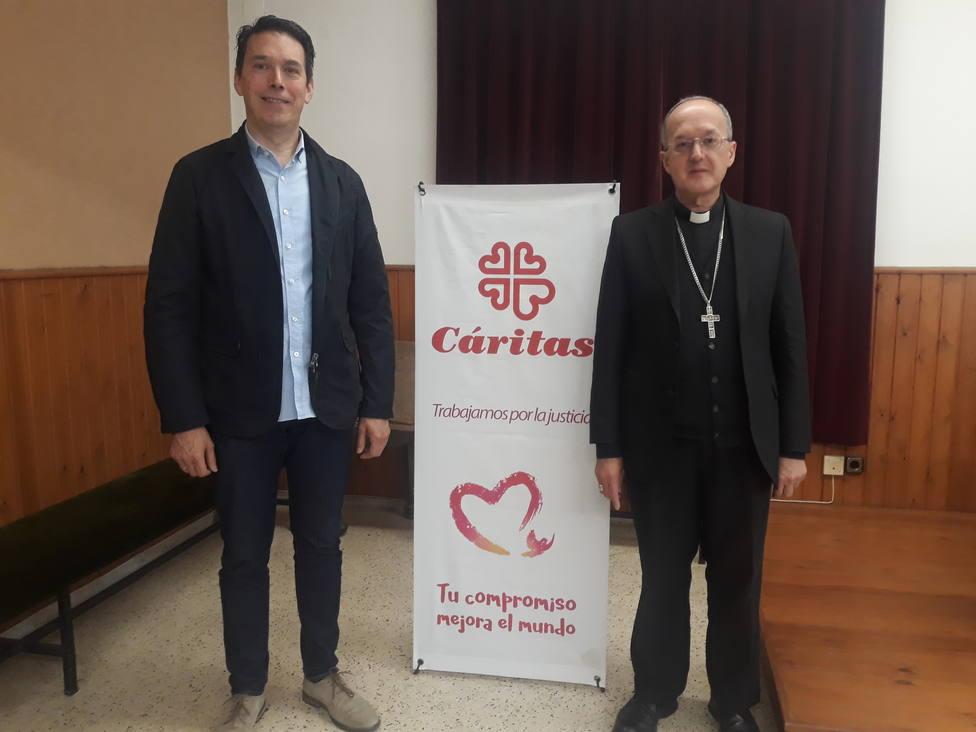 Don Julián Ruiz y Marcos Lera