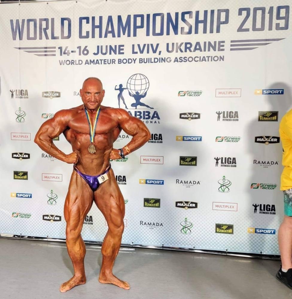 Juan Miguel Sanz, bronce en el Mundial de Ucrania.