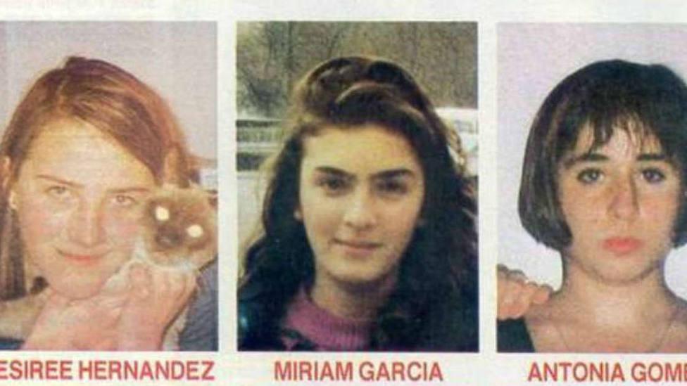 El 'caso Alcàsser': Tres niñas asesinadas y el principal sospechoso en paradero desconocido