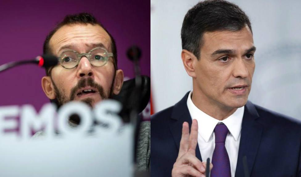 La rotunda acusación de Echenique a Pedro Sánchez por su veto a Pablo Iglesias