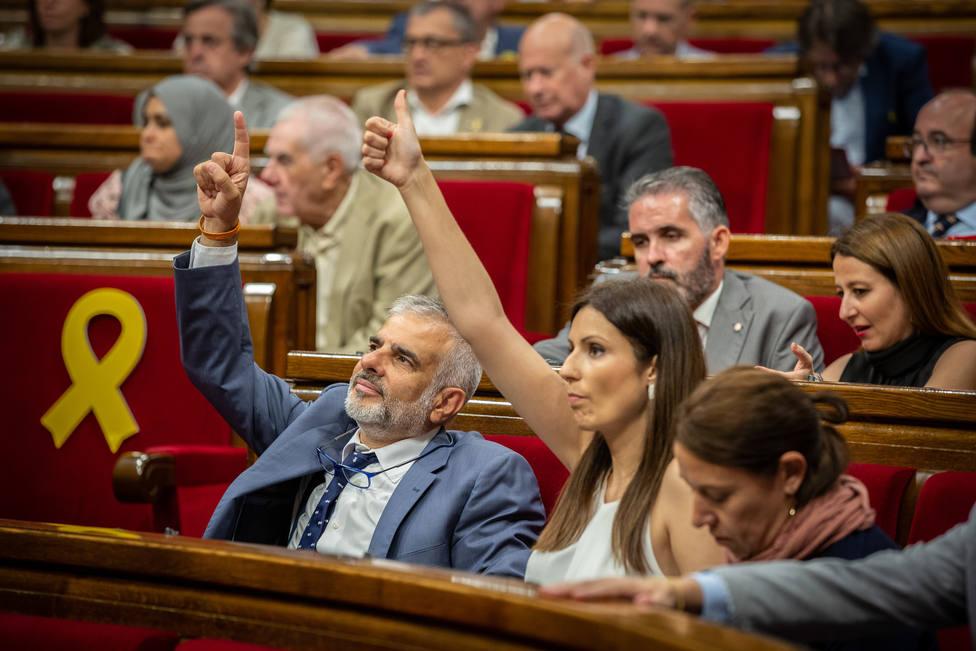 Cs pide a Torra comparecer en el Parlament por la indebida utilización de recursos en la Diada