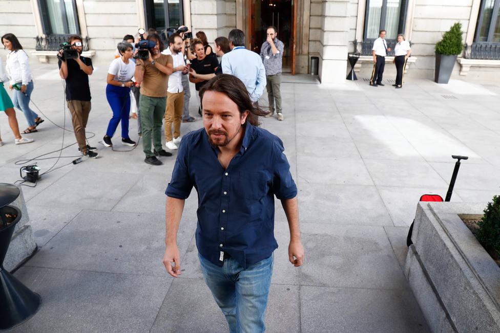 Pablo Iglesias cree que fue un error no negociar el acuerdo de Gobierno de coalición personalmente con Pedro Sánchez
