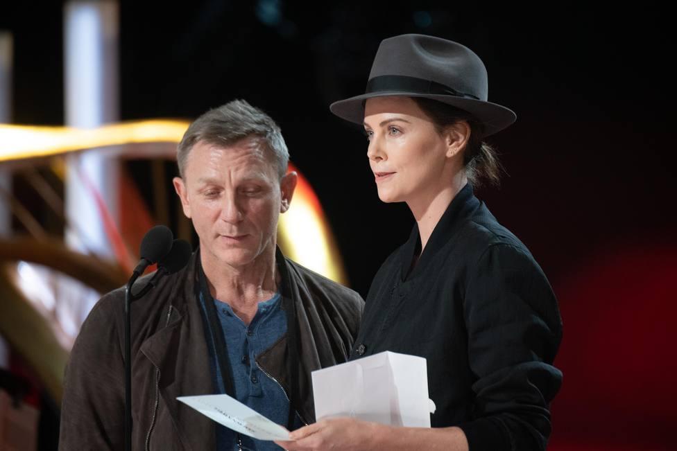 Charlize Theron en los Oscar 2019