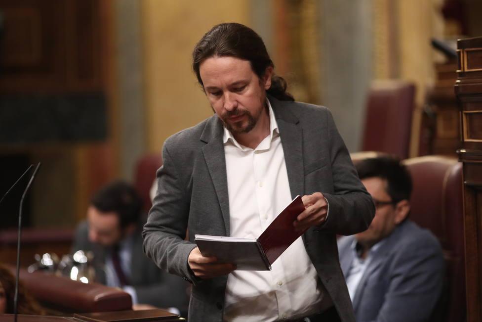Iglesias vuelve a tender la mano a Sánchez para un acuerdo de coalición y le pide que copie el modelo de Italia