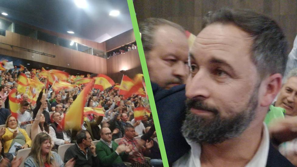 Un mitin con sabor a España. Santiago Abascal: Sabéis bien lo que han hecho en Albacete Cs y PSOE