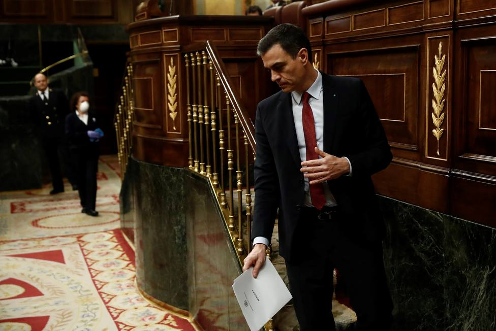 El Congreso autoriza a Sánchez a ampliar el indispensable estado de alarma