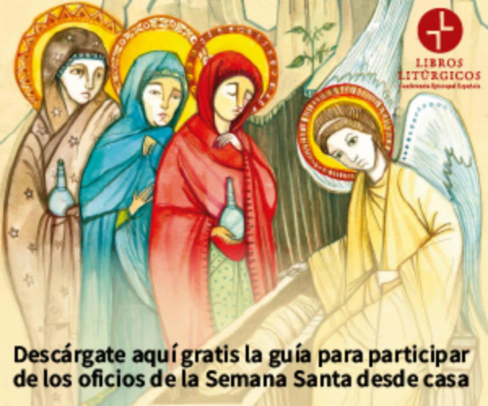 La Iglesia española edita una guía online para participar en los oficios de Semana Santa desde casa