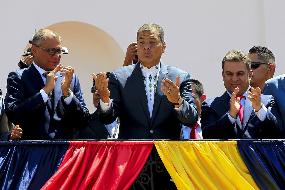 El expresidente de Ecuador Rafael Correa y su número dos, condenados a ocho años de prisión por corrupción