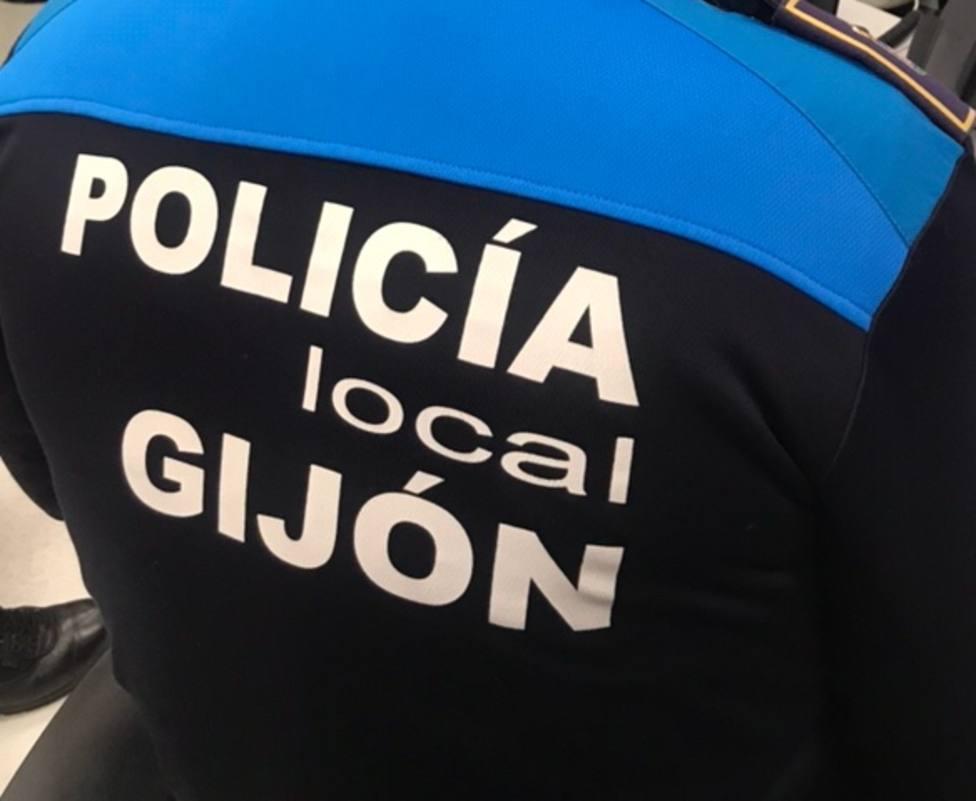 Foto Policía Local Gijón (Chaleco)