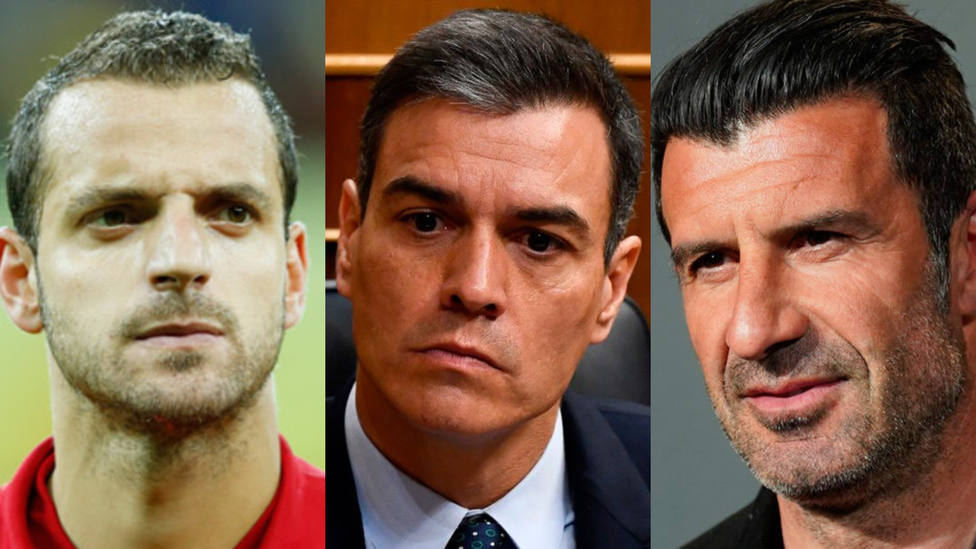 Roberto Soldado, Pedro Sánchez, Luis Figo