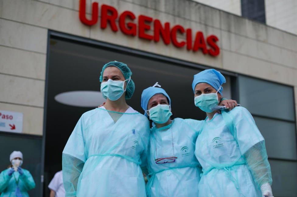 Andalucía registra 85 hospitalizados, dos menos que en el último día