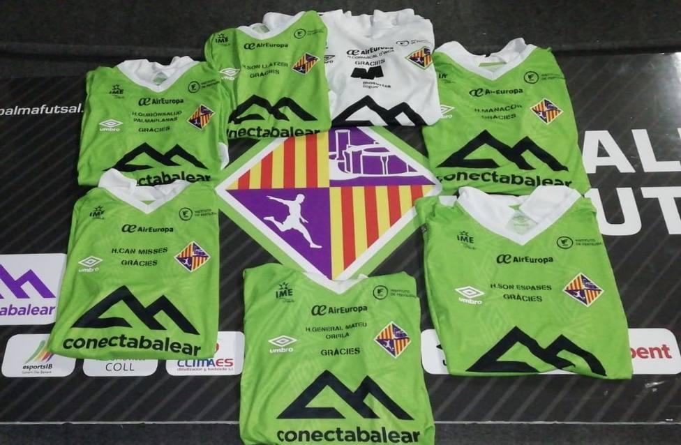 Palma Futsal lucirá en sus camisetas los nombres de hospitales de Baleares