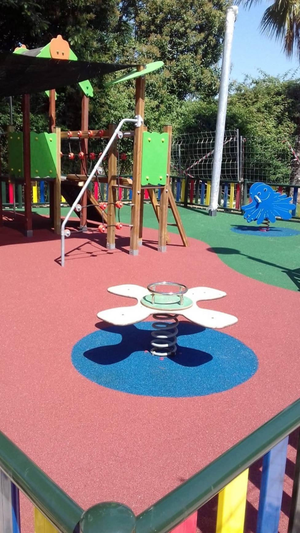 Los vecinos de Barriomar contarán con un nuevo parque infantil entoldado de 200 m2