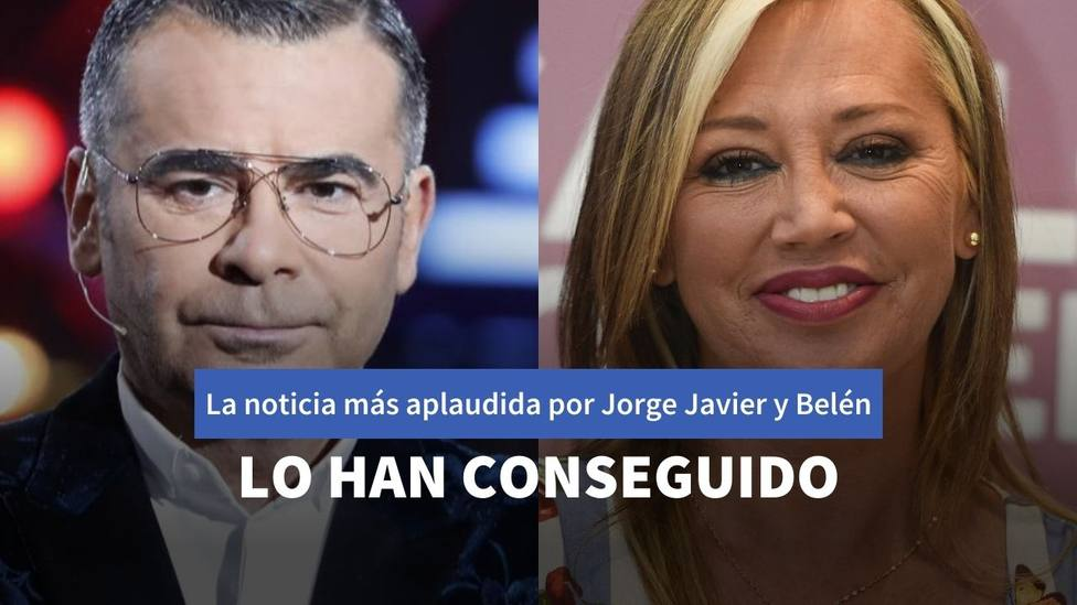 Jorge Javier Vázquez y Belén Esteban