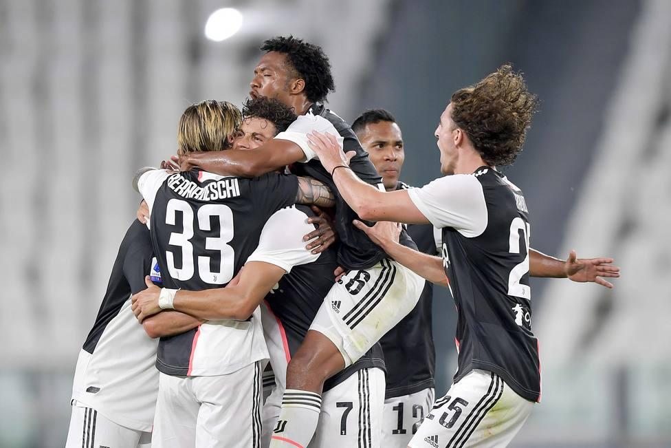 La Juventus levanta su 36ª Scudetto, su noveno campeonato consecutivo