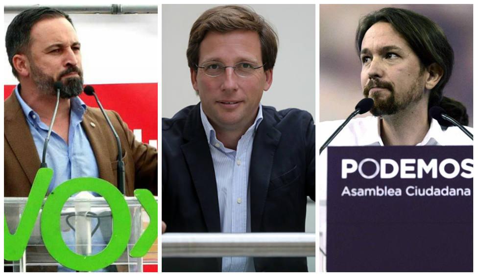"""La comparación entre Vox y Podemos que hace Martínez-Almeida y que no les gusta: """"Encuentre las diferencias"""""""